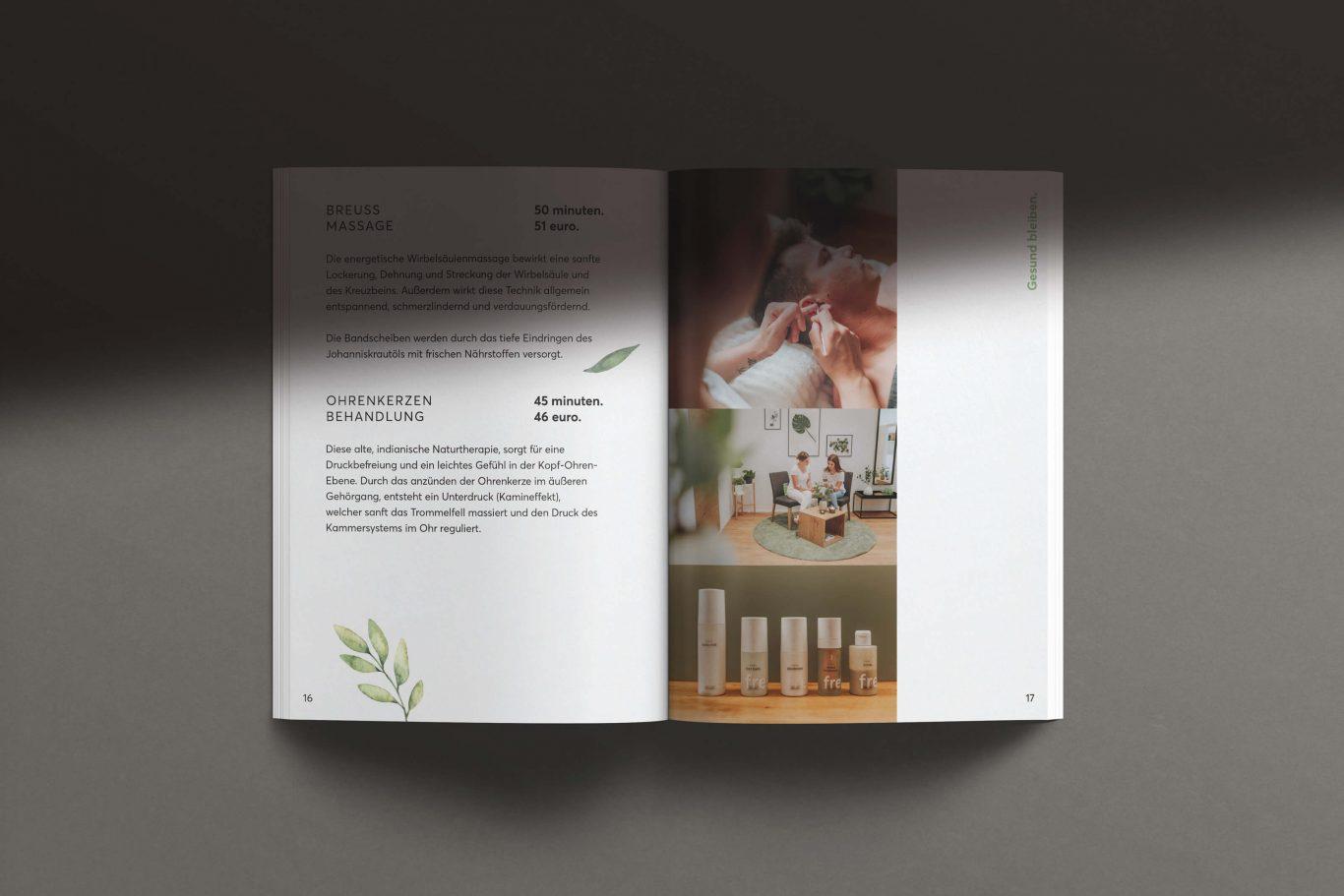 flow Massageinstitut Folder