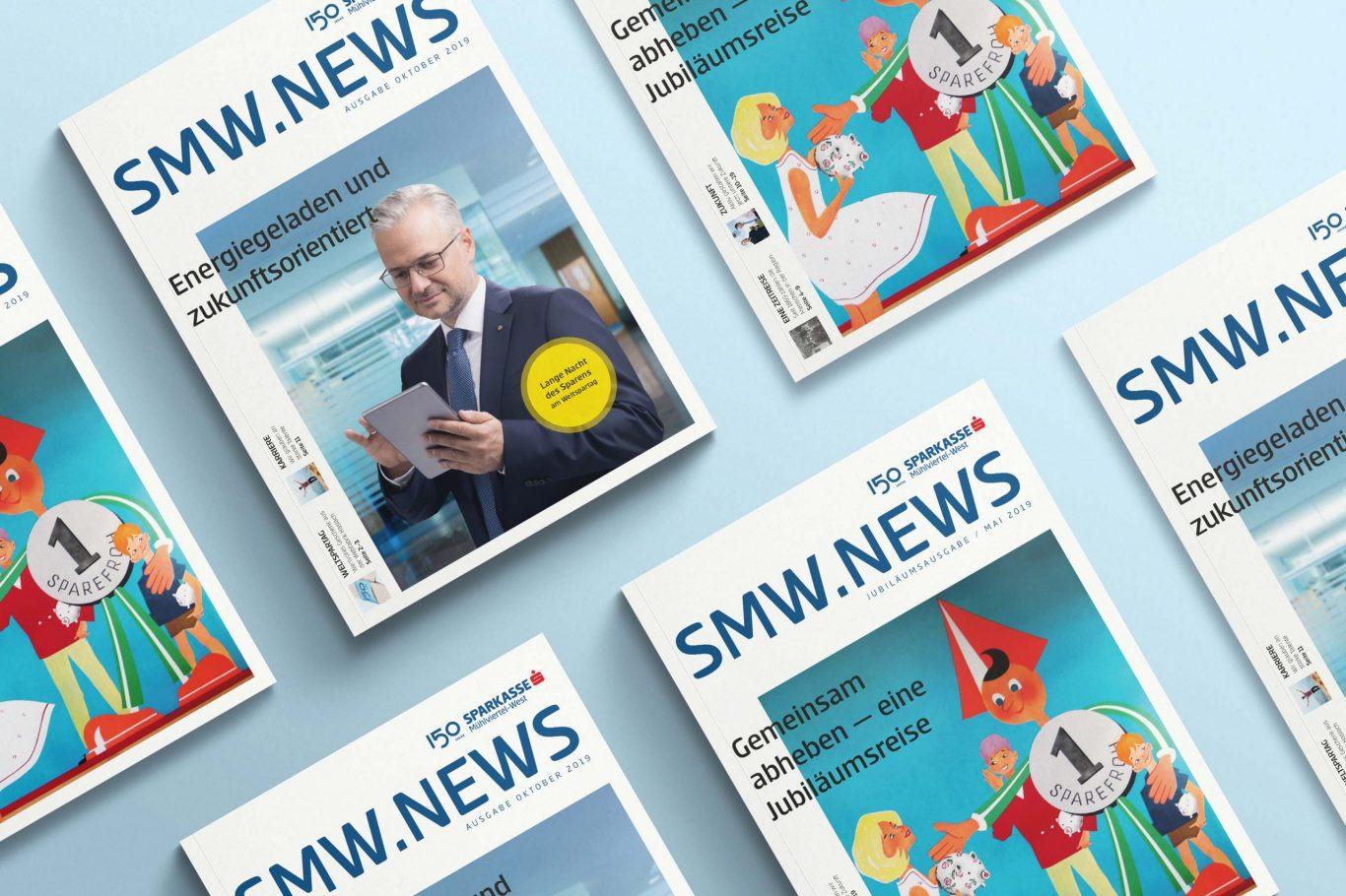 Sparkasse Mühlviertel-West Jubiläumszeitung Cover