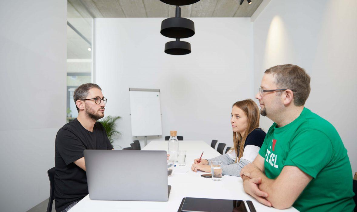 Andares Marketing und Kommunikation Meeting